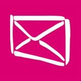 配件箱信包邮件 库存图片
