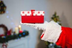 配件箱克劳斯礼品藏品例证圣诞老人向量 图库摄影