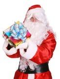 配件箱克劳斯赠礼圣诞老人 库存照片