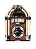 配件箱减速火箭juke的收音机 库存图片