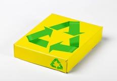 配件箱回收符号 库存照片