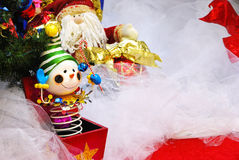 配件箱圣诞节插孔 免版税库存照片