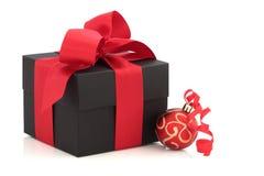 配件箱圣诞节礼品 免版税图库摄影