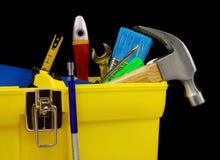 配件箱塑料集合工具 库存图片