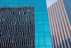 配件箱大厦玻璃办公室 免版税库存图片
