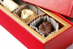 配件箱巧克力 库存图片