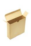 配件箱开放纸张 免版税库存照片