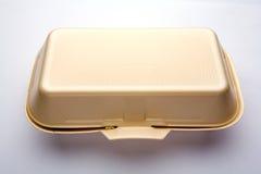 配件箱快餐 库存图片