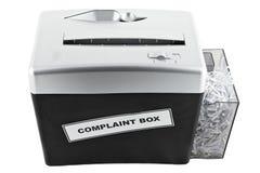 配件箱投诉查出的切菜机 免版税库存图片