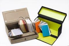 配件箱文件夹纸张 免版税库存图片