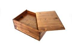 配件箱木头 库存照片