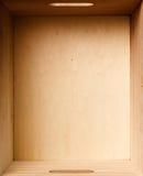 配件箱木头 免版税图库摄影