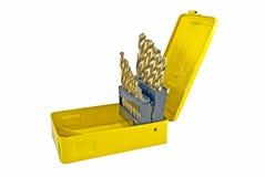 配件箱查询黄色 库存照片