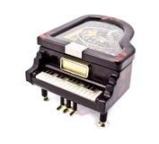 配件箱珠宝钢琴 免版税库存照片