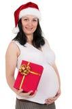 配件箱礼品孕妇 库存图片