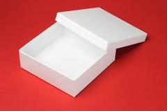 配件箱礼品白色 免版税图库摄影