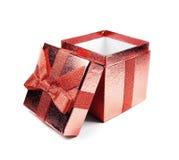 配件箱礼品红色 免版税库存图片