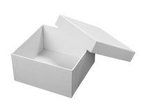 配件箱程序包白色 免版税库存照片