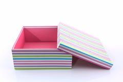 配件箱空的礼品 库存图片