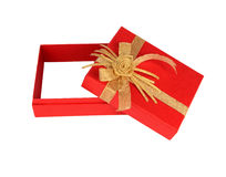 配件箱空的礼品 免版税库存图片