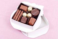 配件箱糖果巧克力礼品 免版税库存照片