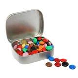 配件箱糖果 库存照片