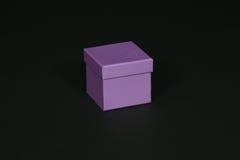 配件箱紫色 库存图片