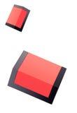 配件箱红色 库存照片