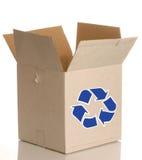 配件箱纸板回收 免版税库存照片