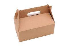 配件箱纸板执行 免版税库存照片