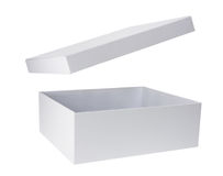 配件箱纸板盒盖 免版税图库摄影