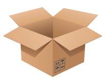 配件箱纸板 库存照片