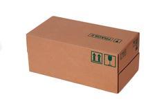 配件箱纸盒 免版税库存照片