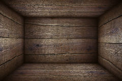配件箱老木 免版税库存图片