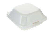 配件箱聚苯乙烯泡沫塑料 库存图片
