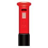 配件箱英国图标伦敦邮件红色符号 库存图片