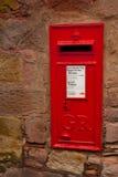 配件箱英国图标式的过帐 库存照片