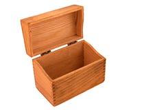 配件箱被燕尾的橡木食谱葡萄酒 免版税库存图片