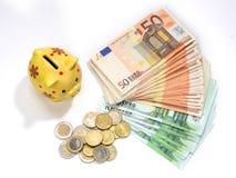 配件箱货币保存 免版税库存照片
