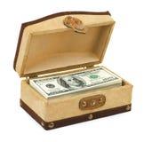 配件箱货币 库存图片