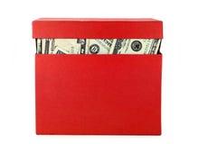 配件箱货币 免版税库存图片