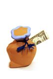 配件箱货币 免版税图库摄影
