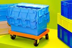 配件箱运输 库存图片