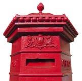配件箱邮件维多利亚女王时代的著名&# 免版税库存图片