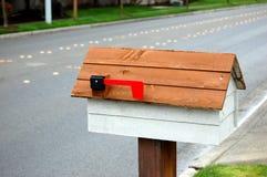 配件箱邮件路旁 免版税图库摄影