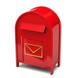 配件箱邮件 皇族释放例证