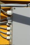配件箱配电器 免版税图库摄影