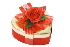 配件箱重点玫瑰色形状 免版税库存图片