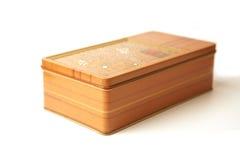 配件箱金属长方形 免版税库存图片