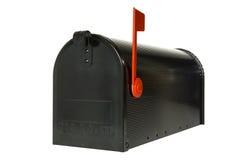 配件箱闭合的邮件 免版税库存图片